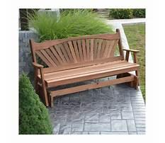 Best Wooden glider bench.aspx