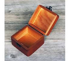 Best Wooden jewelry box template