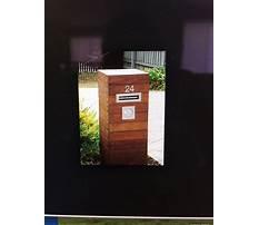Best Wooden letterbox designs