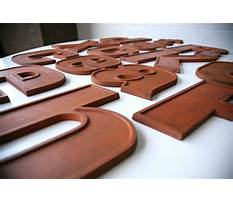 Best Wooden letters uk