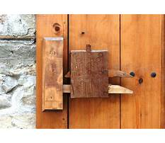 Best Wooden lock project