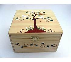 Best Wooden memory boxes bereavement