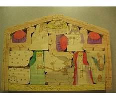 Best Wooden nativity puzzle patterns