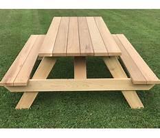 Best Wooden outdoor table plans