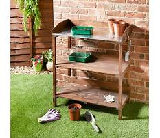 Best Wooden potting bench b&q