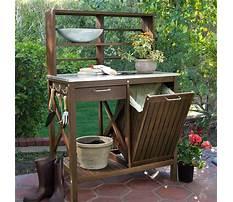 Best Wooden potting bench bakers