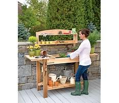 Best Wooden potting bench building