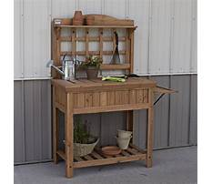 Best Wooden potting bench by leisure