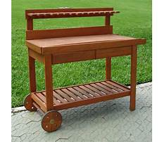 Best Wooden potting bench table