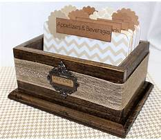 Best Wooden recipe box dividers