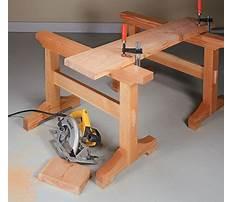 Best Wooden sawhorse trestle