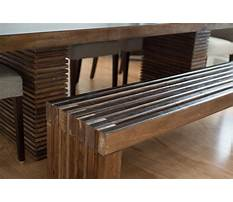 Best Wooden slat bench