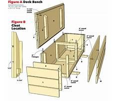 Best Wooden storage bench plans free