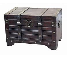 Best Wooden storage trunk