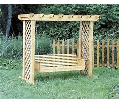 Best Wooden swing bench plans.aspx