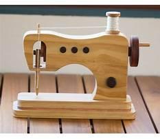 Best Wooden toy sewing machine plans