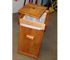 Best Wooden trash cans for kitchen.aspx