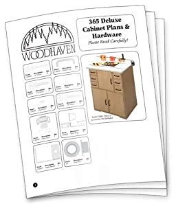 Woodhaven-365p-Deluxe-Router-Table-Cabinet-Plans