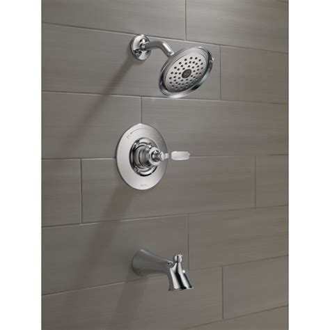 Woodhurst Diverter Shower Faucet With Trim And Monitor