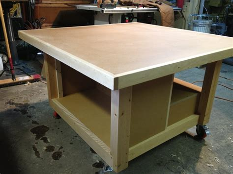 Woodshop Assembly Bench Plans