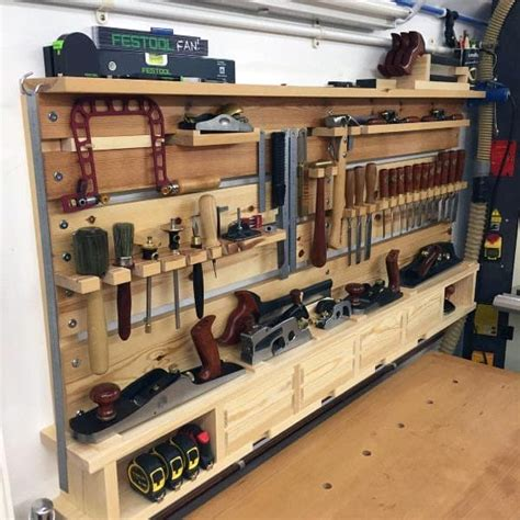 Woodshop Tool Storage Ideas