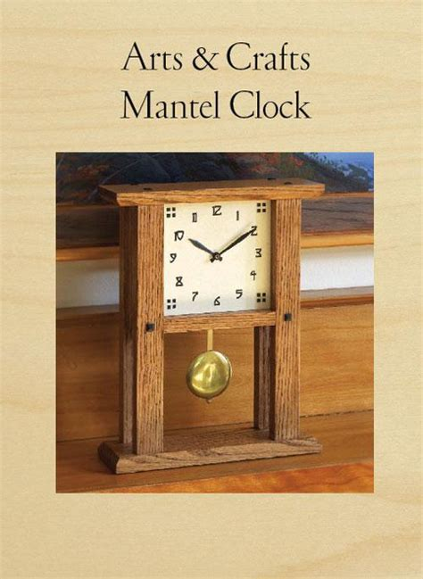 Woodsmith Arts And Crafts Clock Plans