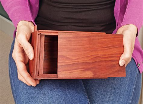 Woodsmith Free Plans For Puzzle Box
