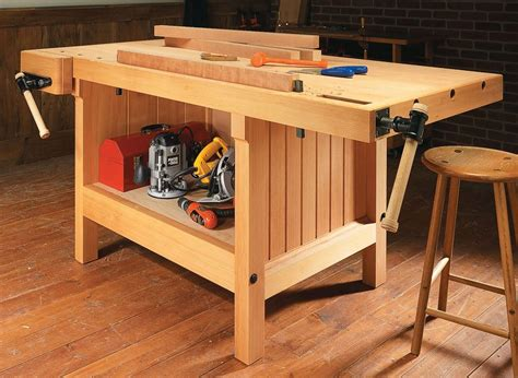 Woodsmith Heavy Duty Workbench Plans
