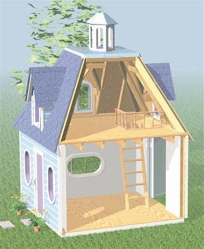 Woodsmith Plans Now Playhouse