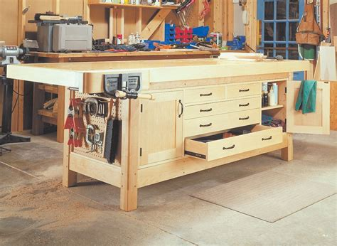 Woodsmith Shop Workbench Free Plans