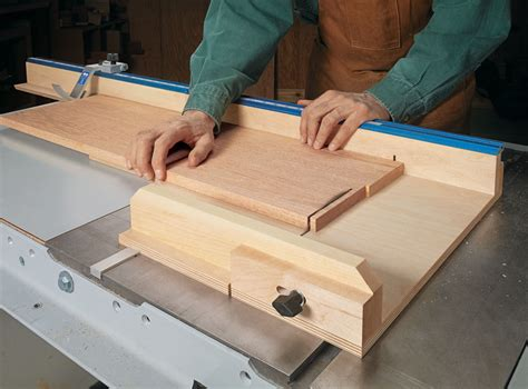 Woodsmith Table Saw Sled Plans