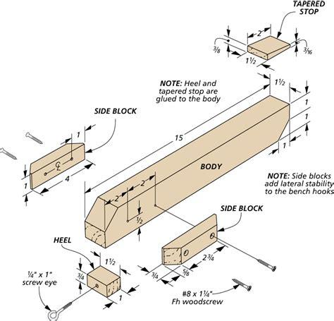 Woodsmith-Bench-Hook-Plans
