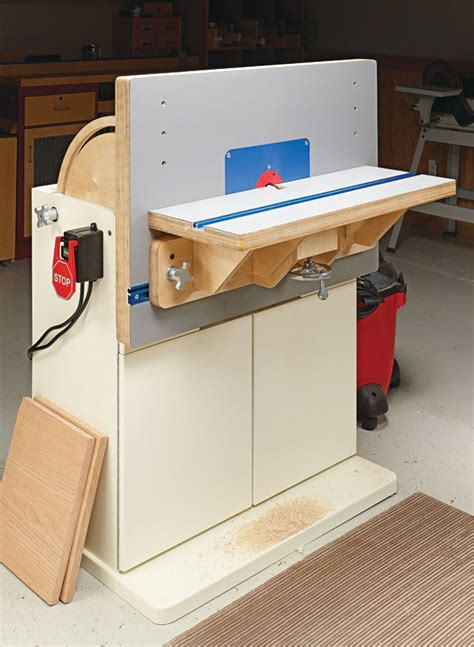 Woodsmith-Plans-Combination-Router-Table