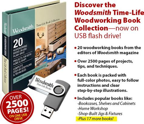 Woodsmith-Time-Life-Woodworking-Book-Collection
