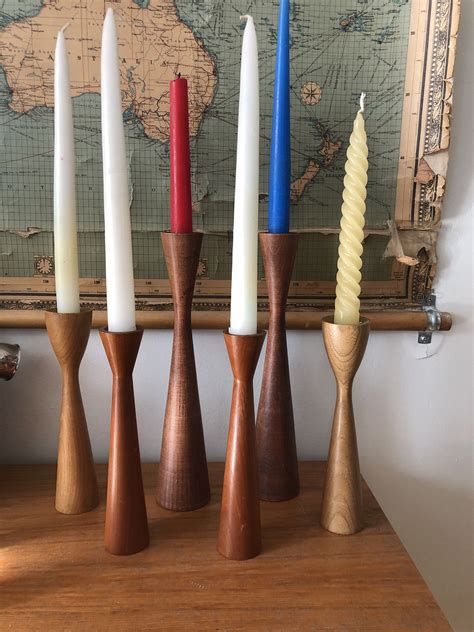 Woodturning Candlestick Holders