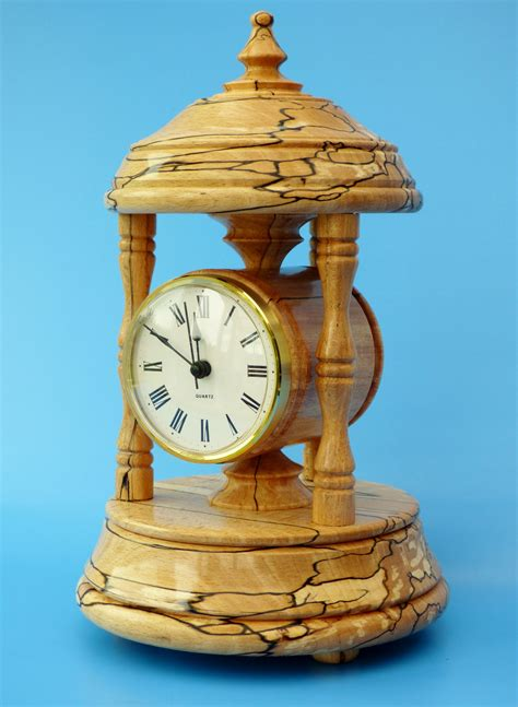 Woodturning-Projects-Clocks