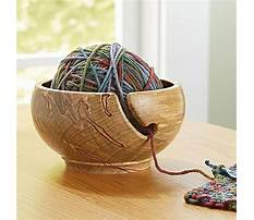 Best Woodturning projects yarn bowl