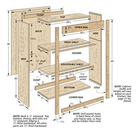 Woodwork Building Furniture Plans Hutch