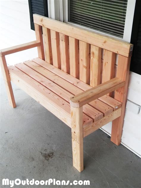 Woodwork Diy Garden Bench Plans Free