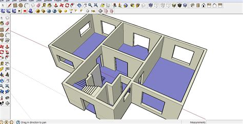 Woodwork Drawing How To Make Floor Plans In Sketchup
