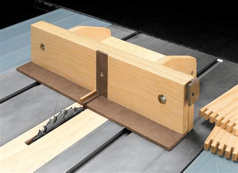 Woodwork Free Adjustable Box Joint Jig Plans