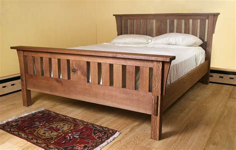 Woodwork Home Plans Mission Style Bed