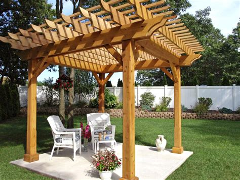 Woodwork Pergola Plans DIY Network