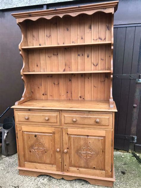 Woodwork Plans Second Hand Pine Welsh Dresser