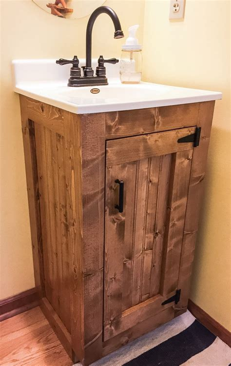 Woodwork Plans Small Bath Vanity Cabinets