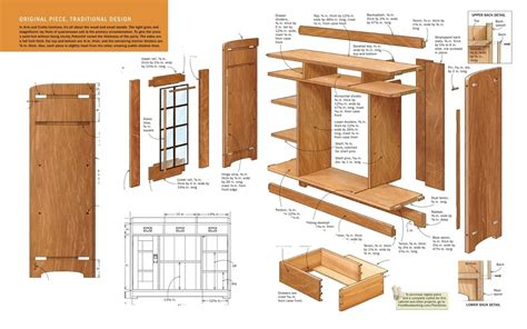 Woodwork Plans Using Sketchup 8