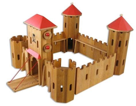 Woodwork Plans Value Of 1965 German Made Toy Castles And Knights