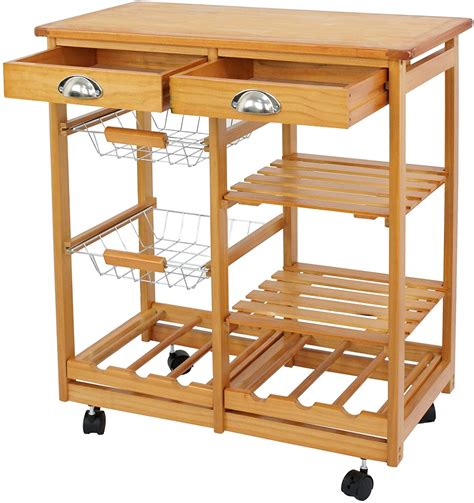 Woodwork Plans Wooden Kitchen Utility Carts