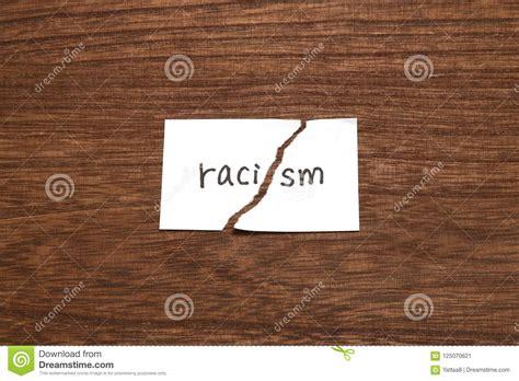 Woodwork-Racism