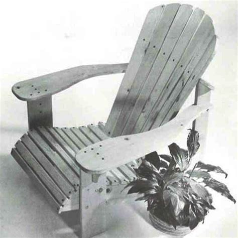 Woodworkers Journal Adirondack Chair Plans